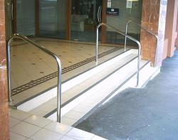 Design stainless steel handrails