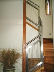 Stainless steel bannister